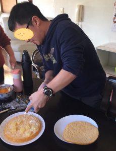 ケーキ作り2 ブログ